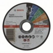 Bosch Multi Construction Rapido egyenes darabolótárcsa, 125 mm (2608602385)