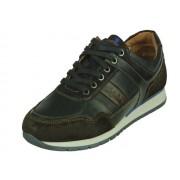 Australian Wayne Leather - blauw brown - Size: 42