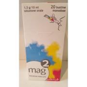 Sanofi Spa Mag 2 1,5 G/10 Ml Soluzione Orale 20 Bustine Monodose In Pet/Al/Pe Da 10 Ml