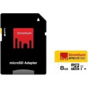 Strontium Nitro Lite 8 GB MicroSD Card Class 10 60 MB/s Memory Card