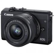 Canon Eos M200 + Ef-M 15-45mm Is Stm - Nero - 2 Anni Di Garanzia In Italia