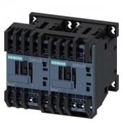 Forgásirányváltó mágneskapcsoló, 3Kw/7A (400V, AC3), 230V AC 50/60 Hz vezerlés, rugós csatlakozás, S00 méret, Sirius (Siemens 3RA2315-8XB30-2AP0)