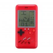 Rs-99 Tetris Clasico Retro Consola De Juegos Portatil, Pantalla De 3,5 Pulgadas, Construido En 36 Tipos De Juegos (rojo)