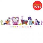My Little Pony Friendship Magic Bath Spa Set with 3 Ponies and 25 Accessories (Rainbow Dash, Rarity,