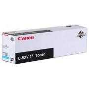 CANON C-EXV 17 Toner Cartridge, Cyan (CF0261B002AA)