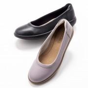 アキレス・ソルボ 牛革フラットシューズ【QVC】40代・50代レディースファッション