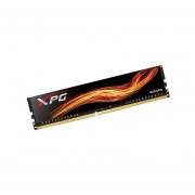 Memoria ADATA XPG Flame DDR4, PC4-19200 (2400MHz), CL16, 4 GB. Color Negro. AX4U2400W4G16-SBF