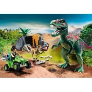 Playmobil Dinos 9231 Explorateur Avec Dinosaures