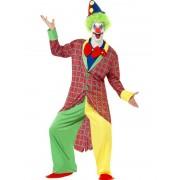 Costum carnaval barbati Clown de lux