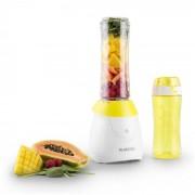 Klarstein Paradise City Smoothie Maker Blender 300W Tritan BPA free-2 x Cupe Alb