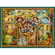 Puzzle temele Disney, 1000 piese Ravensburger