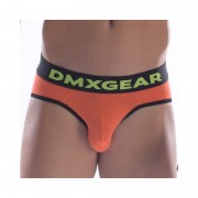DMXGEAR Anatomic Fit Luxury Cotton Brief Underwear Orange DMX18AF01