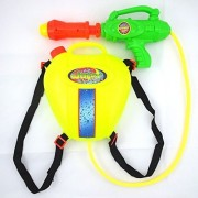 Water Gun Back Pack Style Pump Action Water Squirter Long Distance by Env Toys