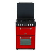 Stoves Richmond 600DF Jalapeno Dual Fuel Cooker - Red