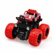 Mini Monster Trucks CAR 4WD Friction Powered Cars 4x4 for Kids Big Rubber Tires Baby Boys Super Cars Blaze Truck ( Pack