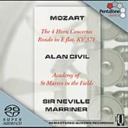 PENTATONE W.a. Mozart - Mozart : Les 4 concertos pour cor ; Rondo en mi bémol [SACD] USA import
