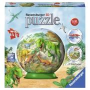 PUZZLE 3D DINOZAURI, 72 PIESE - RAVENSBURGER (RVS3D11838)