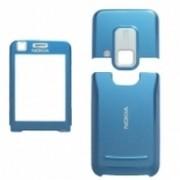 Carcasa telefon Nokia 6120c6121c set 3 piese albastru deschis