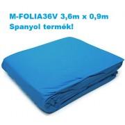Medence fóliabélés 360 x 90cm 0,2mm M-FOLIA36V