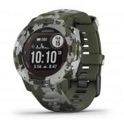 Garmin GPS-horloge Instinct Solar Camo - Groen