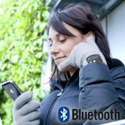 Bluetooth rukavice - Telefonování přes rukavice