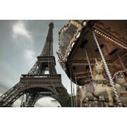 Fototapet Tour Eiffel - Carrousel