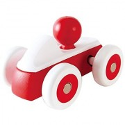 Hape Rolling Roadster Kid's Toy Car in Red