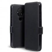 Qubits - slim wallet hoes - Nokia 6.2 / 7.2 - Zwart