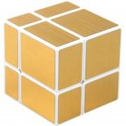 2X2 Cubo Magico(Wiredrawing De Oro) Shengshou - Base Blanca