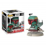 Funko Pop Baba Fett With Slave One Nycc Fall Convention Star Wars Nave
