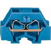 260-334 (50 Stück) - 4-L.Klemme 2x0,08-1,5mmq blau 260-334