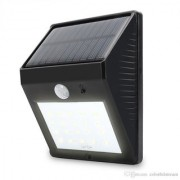Ever Brite Outdoor Motion Activated Sensor Solar Power LED Light Lamp Stick Up