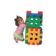Monte Play Robo Colorido Alpha Brinquedos Colorido