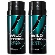 Wild Stone Hydra Energy Deodorant Spray Pack of 2 Combo Combo pack of 2 150ml each 300ml each 300ML