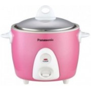 Panasonic SR G06DPK Electric Rice Cooker(0.3 L, Pink)