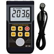 HOLDPEAK 130 Digitális ultrahangos anyagvastagság mérő 1.2-225mm külső mérőszonda adattárolás.