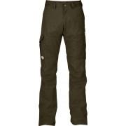 FjallRaven Karl Trousers - Dark Olive - Pantalons de Voyage 44