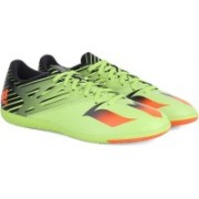Adidas MESSI 15.3 TF Men Football Shoes(Black, Green, Red)