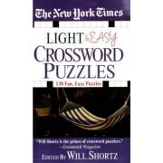 The New York Times Light and Easy Crossword Puzzles: 130 Fun, Easy Puzzles, Paperback