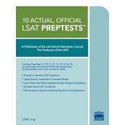 10 Actual, Official LSAT Preptests, Paperback/Law School Admission Council
