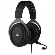 Геймърски слушалки corsair hs60 pro surround, 50mm неодимови говорители, 7.1 съраунд, микрофон, carbon, ca-9011213-eu