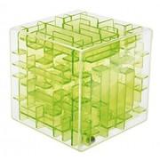 Three Dimensional Green Transparent Cube Maze Preschool Toys Educational Toys