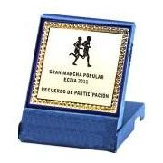 Placi Comemorative Aluminiu cu cutie