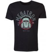 Transformers - Megatron T-Shirt Black