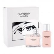 Calvin Klein Women confezione regalo eau de parfum 100 ml + lozione corpo 100 ml donna