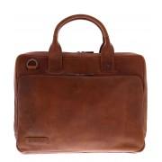 Plevier Crossbodytas Laptop Bag 852 15.6 Inch Bruin