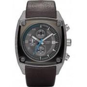 Diesel Mens Grey Brown Chronograph Watch