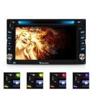 "Auna MVD-480 Autorradio con pantalla 6,2"" DVD CD MP3 USB SD"