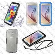 Samsung Galaxy S6 Edge SM-G925 (противоударен, прахоустойчив и водоустойчив калъф) 'Waterproof style'