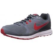Nike Men's Zoom Winflo Blue Graphite,University Red,Classic Charcoal Running Shoes -8 UK/India (42.5 EU)(9 US)